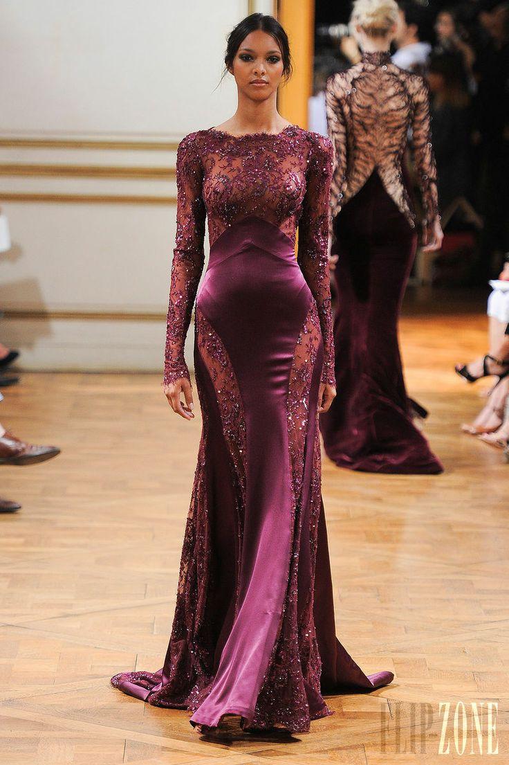 Zuhair Murad - Haute couture - Automne-hiver 2013-2014 - http://www.flip-zone.fr/fashion/couture-1/fashion-houses/zuhair-murad-4018 - ©PixelFormula