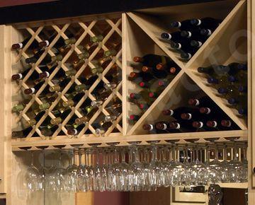 Wine rack lattice plans woodworking projects plans for Diy wine lattice
