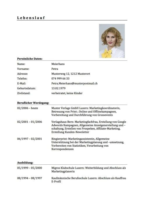 15 Undergraduate Lebenslauf Beruflicher Werdegang Bis Heute Fur Jede Position Design Inspiration Curriculum Vitae