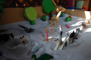 Stories in the sand tray