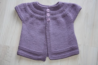 Baby vest, Ravelry