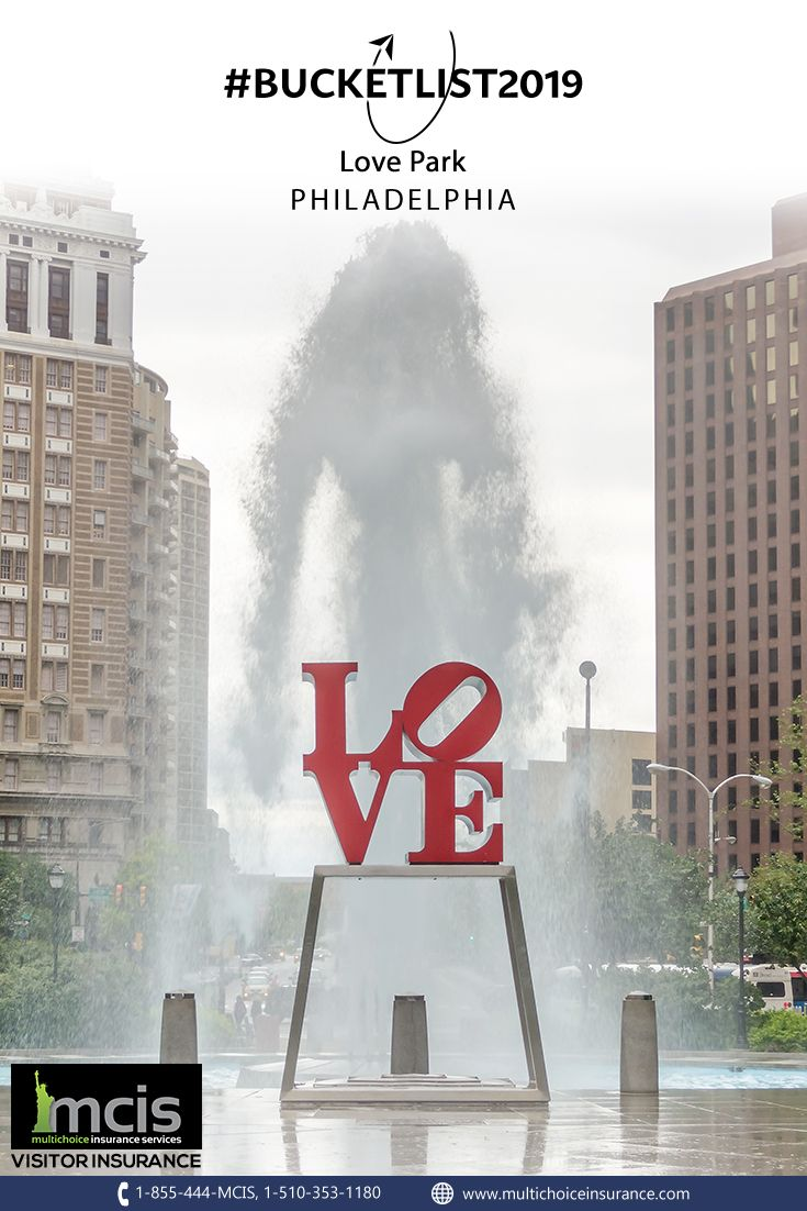Love Park Officially Known As John F Kennedy Plaza Is Nicknamed