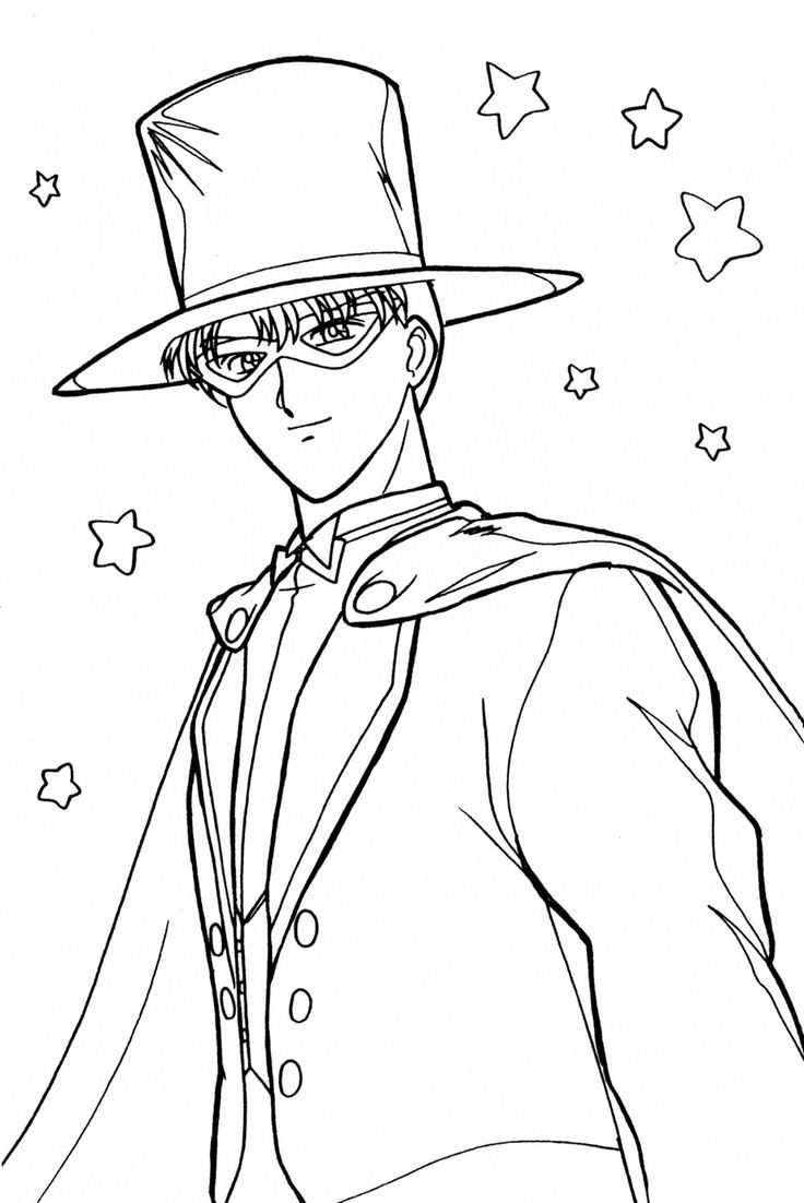 Pin by Carrie Lee on Sailor Moon: Coloring Pages | Pinterest