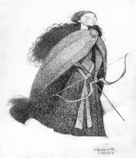 carter goodrich | Art of Brave / Brave: Character Design: Carter Goodrich
