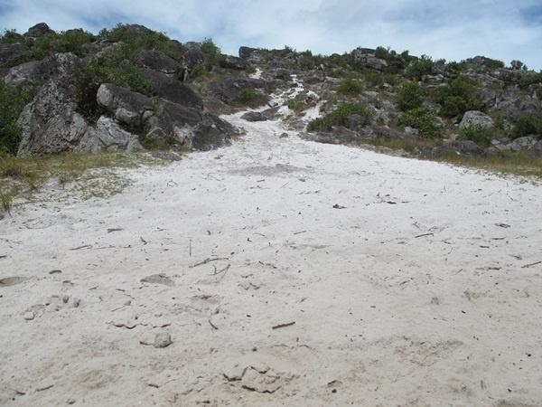 Pasir putih di Lembah (bukan di pantai) Baliem, Papua