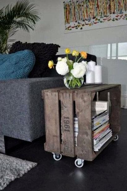 10 ideas para decorar con cajas de frutas | Decoración