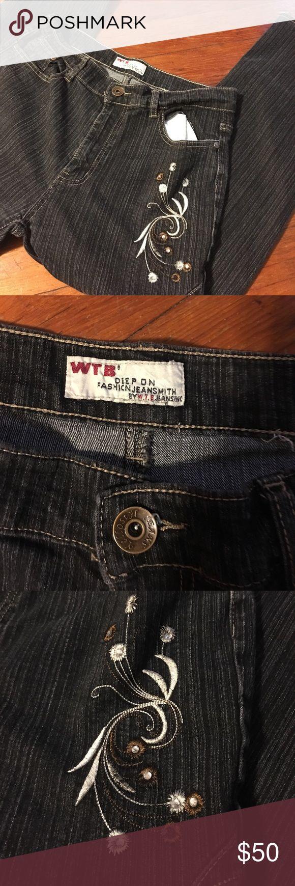 Spotted while shopping on Poshmark: WTB jean Smith Jeans 👖 embroidered!! #poshmark #fashion #shopping #style #WTB jean smith #Denim