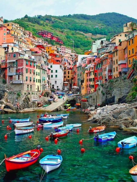 Explore the rare beauty of the Cinque Terre by foot, bike and kayak on our Active Cinque Terre tour. #LiveIntrepid