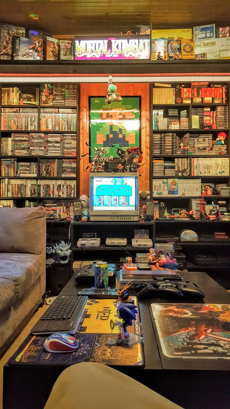 Game Room 5000 dear God this is my dream room