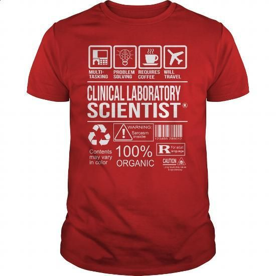 Awesome Tee For Clinical Laboratory Scientist - #long sleeve shirts #men t shirts. I WANT THIS => https://www.sunfrog.com/LifeStyle/Awesome-Tee-For-Clinical-Laboratory-Scientist-103539203-Red-Guys.html?60505