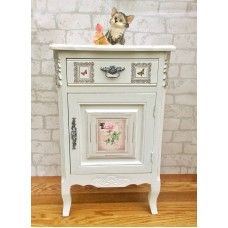 Hand Painted French Style cabinet