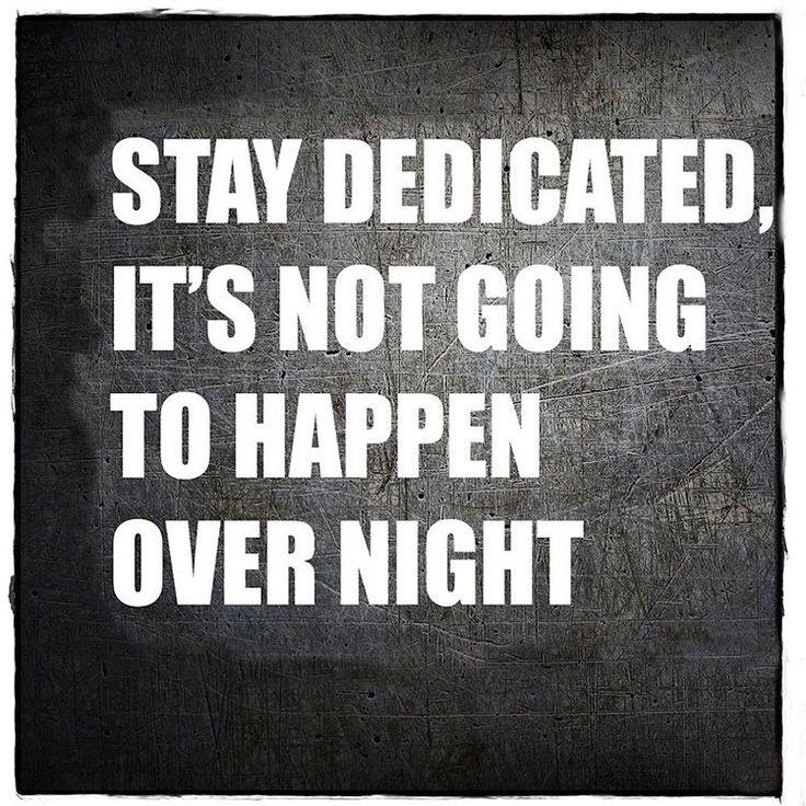 Stay Dedicated! #Inspiration #Motivation #MDUB #Fitness #Quote #mdubmedical #dedication