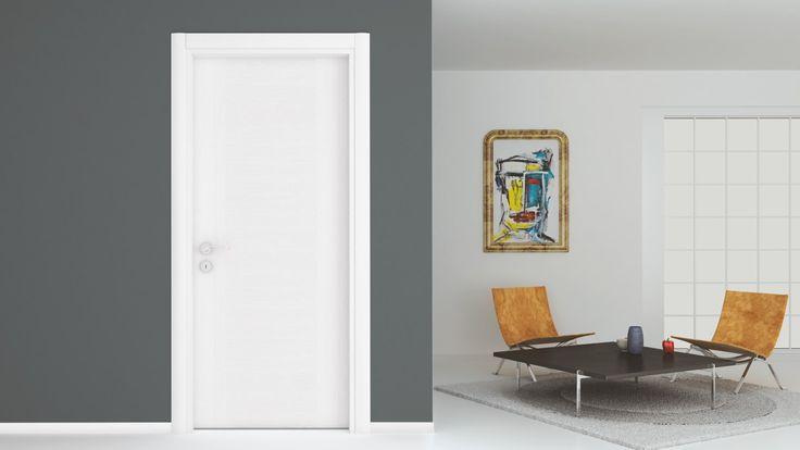 Model: NT3100 Renk: Kardelen Beyaz Meşe Desen  #door #doors #interiordoors #natural #bakisdoor #kapı