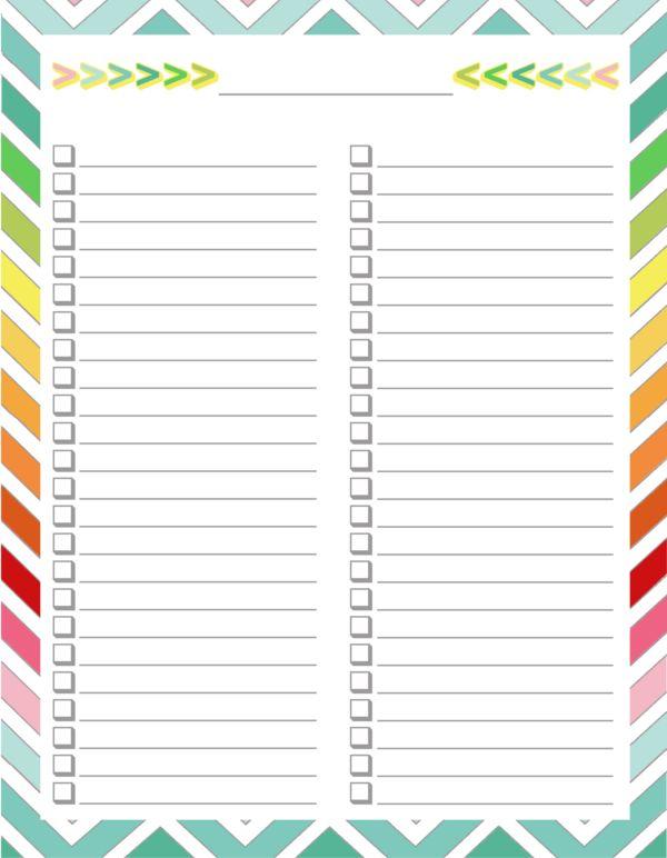 DIY Home Sweet Home: Home Management Binder - Blank list