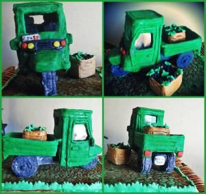 torta motocarro Ape50