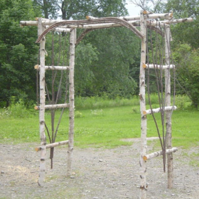 Rustic Wedding Arbors: 142 Best Images About Arbors, Trellises, And Chuppahs On