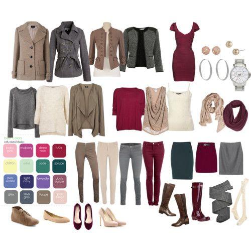 Soft Summer wardrobe
