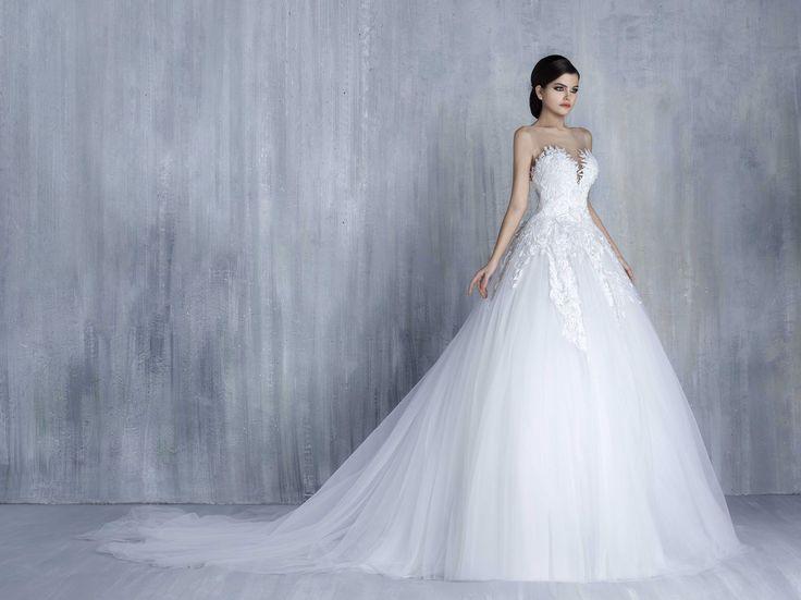 Vestido De Noiva Corte Princesa: Tendência Moda 2017