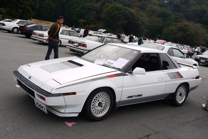 How about this Subaru XT coupe for a great period correct bit of modification?
