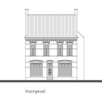 www.monument076.nl  Winkelpand, Oude Bredaseweg 10, Etten-Leur. Tekening: Andries Koster.