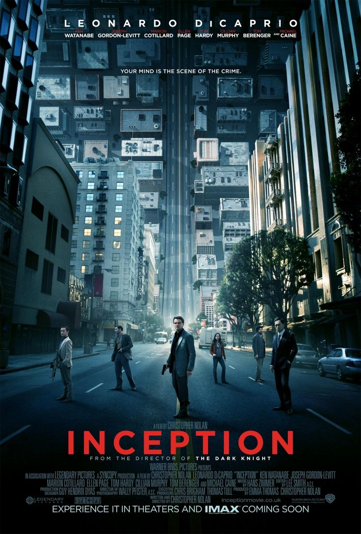 Inception~ Leo Dicaprio does it again, but he is not alone & amongst a relatively strong cast. Its a play on dreams & a team that plant notions in your dream. Extremely clever plot & def worth watching!
