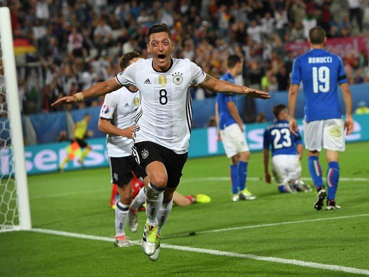 Die Führung für das deutsche Team