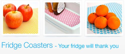 Fridge Coaster Designs - you can win a pack of the from organizedhomelife.com