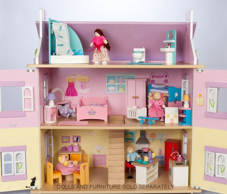 Le Toy Van - Doll House Lavender This doll house is absolutely gorgeous and would be adored by both of my children. Hours of imaginative play. #EntropyWishList #PinToWin
