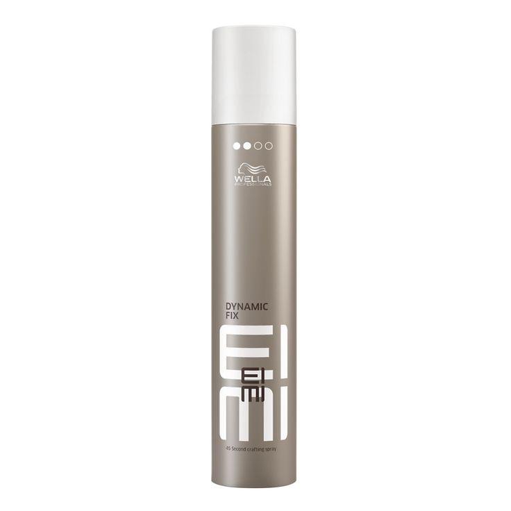Sind Sie auf der Suche nach einem flexiblen Haarspray? Dann haben Sie mit dem EIMI Hairspray Dynamic Fix von Wella das richtige Produkt gefunden. Mit diesem Haarspray können Sie Ihre Haare gestalten und formen.