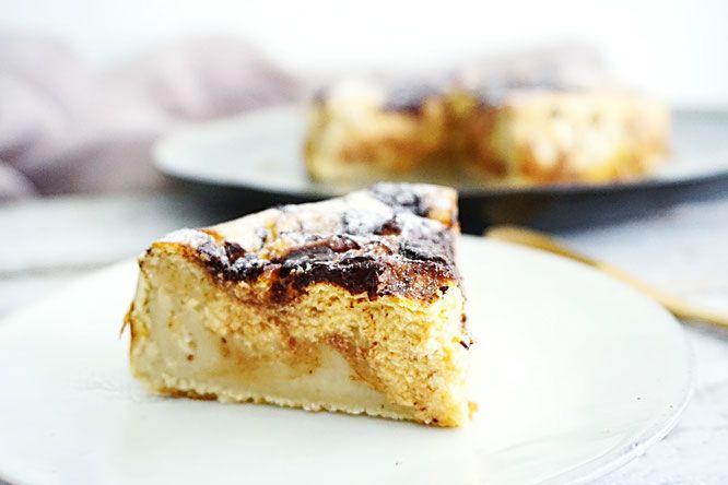 een gezonde suikervrije taart op basis van witte lima bonen