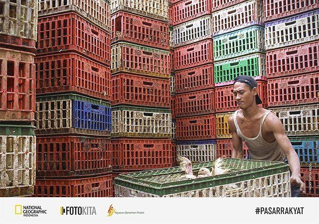 """Sahabat, ada yang tahu interaksi pasar dimanakah ini? Foto oleh Vicky Septia Rezki  Ikuti kontes foto dengan tema """"Interaksi Pasar Rakyat"""" bersama Danamon Peduli.  Menangkan total hadiah tabungan 52,5 juta rupiah. Serta hadiah mingguan 3 unit tas National Geographic NG-A1222 Horizontal Pouch.  Upload foto sahabat ke: fotokita.net/pasar-rakyat  #PasarRakyat #natgeoindonesia"""