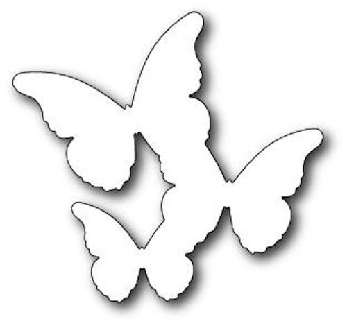Memory Box Dies - Floating Butterflies Background