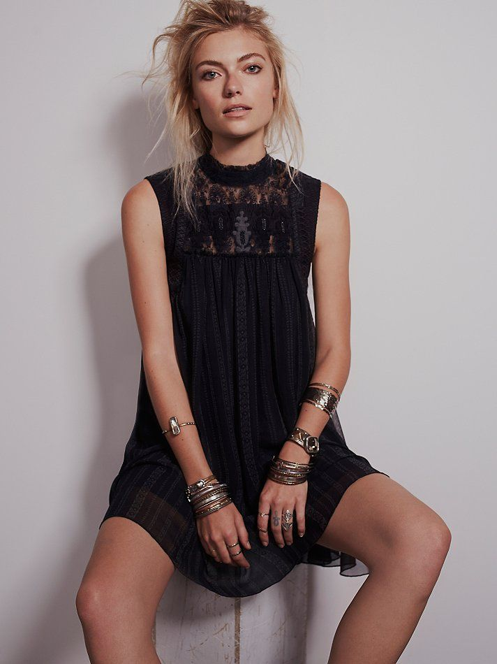 Free People Babylon Dress, $148.00 @caracarp this one was probably my fave out of the ones you sent me