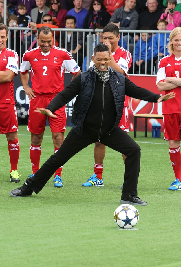 The Best GIF Of Will Smith Missing A Penalty Youll Ever See