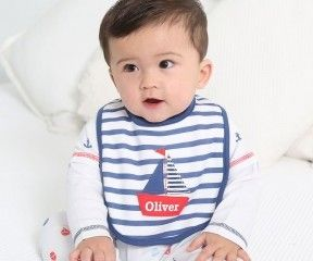 Personalised Sailboat Bib Was £10.00 | Now: £7.00 http://tidd.ly/7a4135f6
