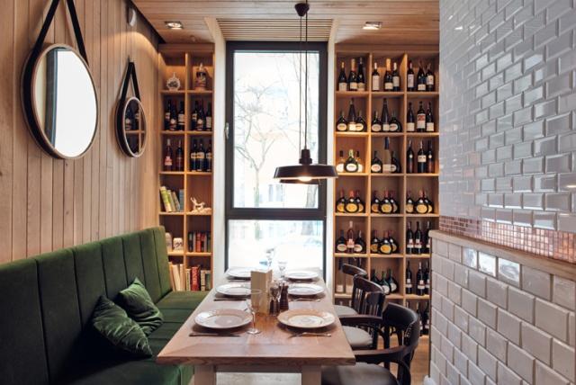 Althaus Restaurant by PB Studio and Filip Kozarski in Gdynia, Poland, via Yellowtrace.