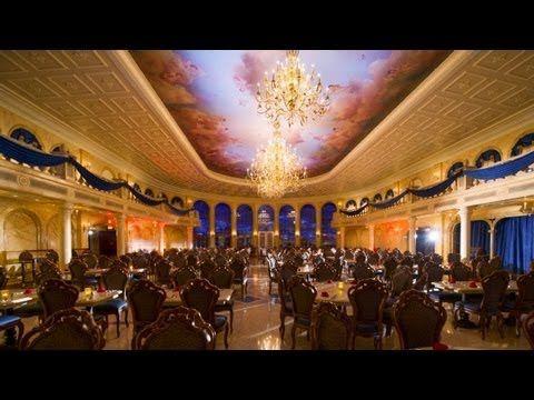 Disney's Be Our Guest Beasts Enchanted Castle Restaurant Tour New Fantas...