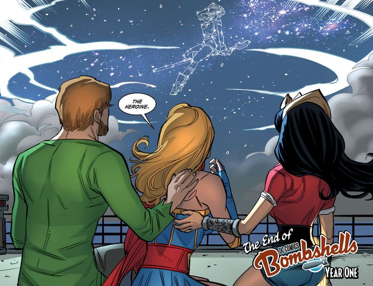DC Comics: Bombshells Issue #36 - Read DC Comics: Bombshells Issue #36 comic online in high quality