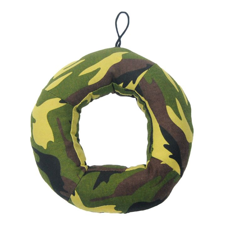 New Brand BB Squeaker  Pet Toys For Dogs Camouflage Cloth Material Cotton Stuffered Squeaking  Dogs Toys For Large Dogs