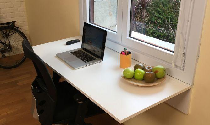 Os enseñamos paso a paso a hacer un escritorio abatible. Se trata de un sencillo escrito que colocaremos bajo una ventana y que podremos…