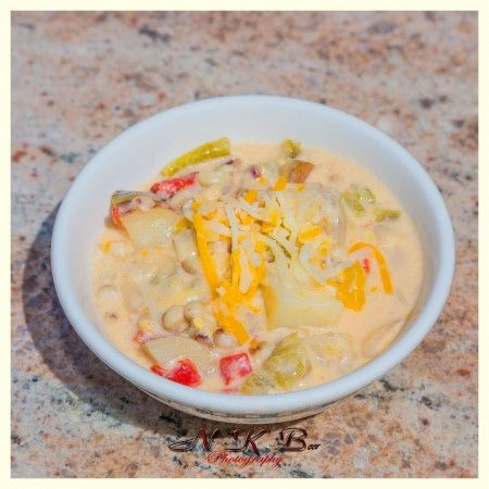Creamy Green Chile Corn Chowder « Bountiful Baskets Blog Utilizes chile peppers, corn and potatoes