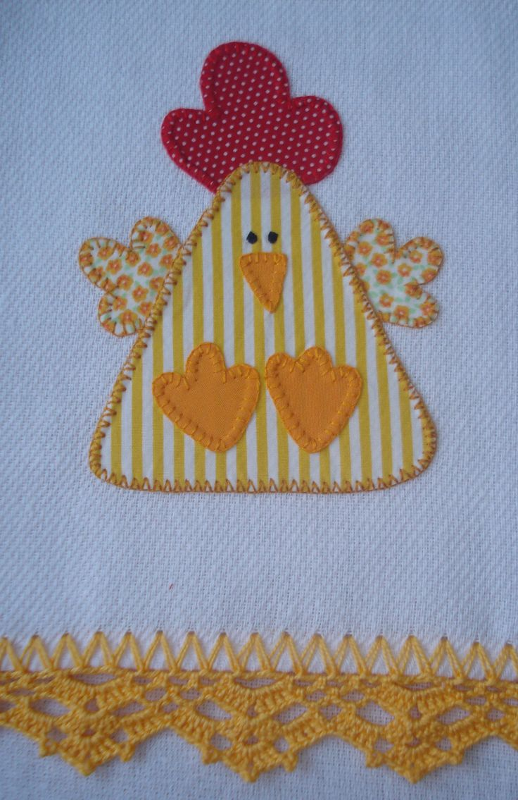 Chicken appliqué