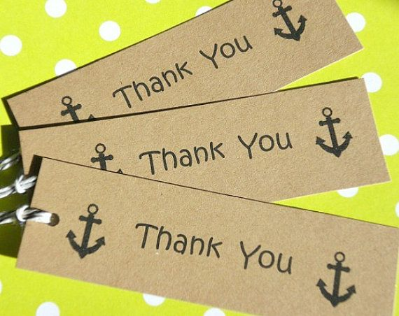 Nautical Tags  Nautical Gift Tags  Wedding Shower by suziescards