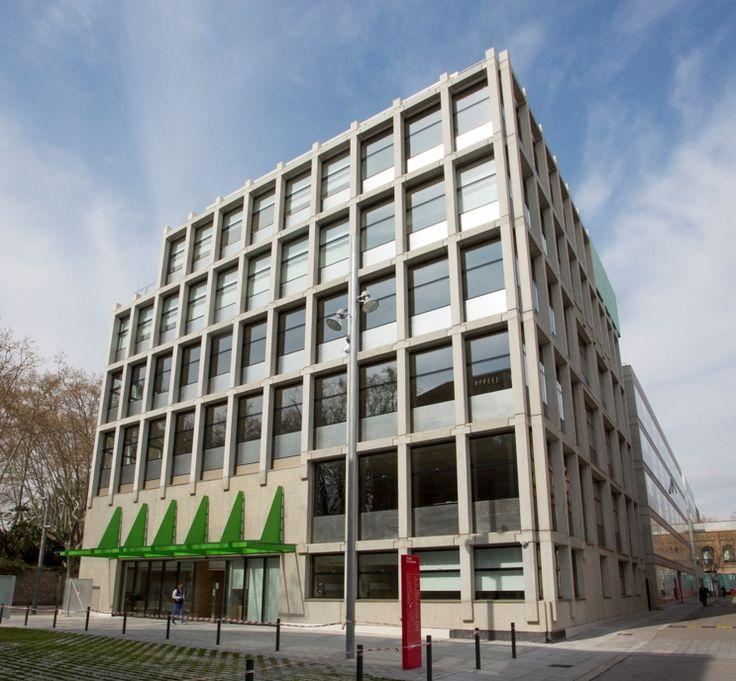 Fundación Pasqual Maragall. Riventi Fachadas Estructurales. Fotografía agefred
