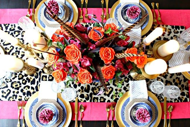 MY THANKSGIVING TABLE: BLOGGER STYLIN' HOME TOURS