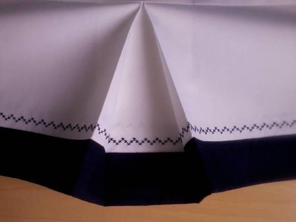 Saia para berço confeccionada em tecido e barrado 100% algodão, com acabamento em pontos decorativos. *A cor da saia e dos detalhes podem ser escolhidas, consulte disponibilidade. **Medida da saia para berço padrão americano. Podem ser alteradas conforme necessidade. ***Altura da saia 17cm. R$ 39,90