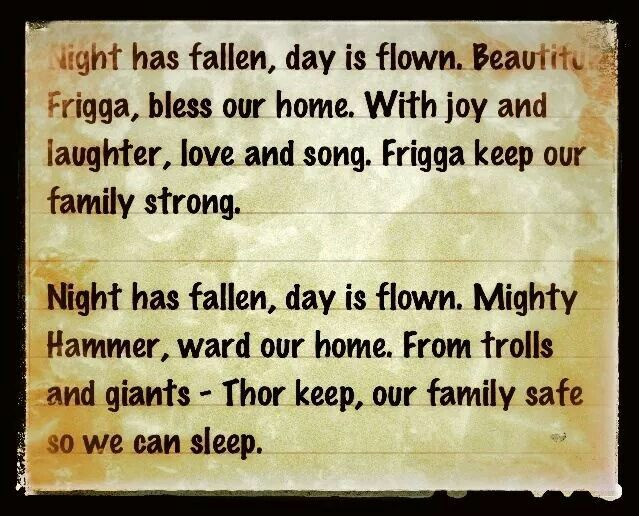 I would modify this a little, but it would be a cute bedtime prayer to say with kids