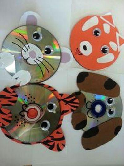 детские поделки из сиди дисков: 18 тыс изображений найдено в Яндекс.Картинках