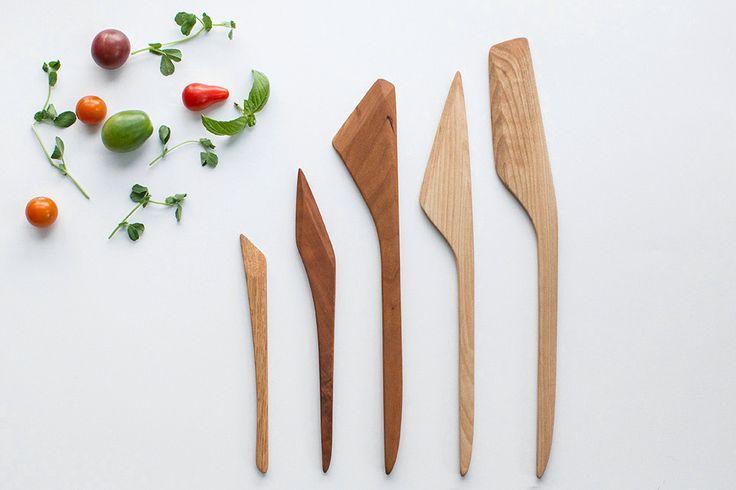 Wooden Cooking Utensil Set (5 pieces)