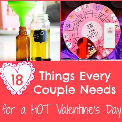 18 Things Every Couple Needs for a HOT Valentine's Day
